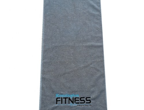 35x75cm plain weaving customized   embroidery logo cotton terry fitness towels
