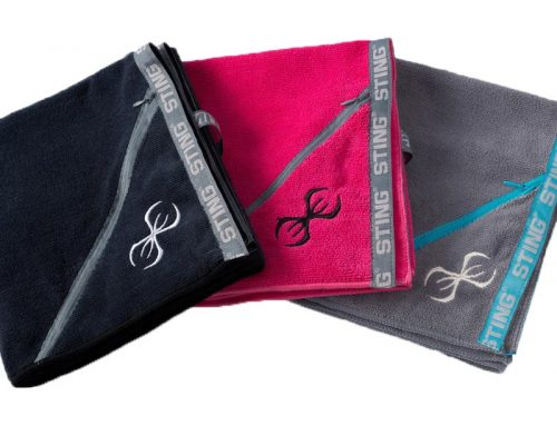Jacquard logo nylon band and woven loop of gym towel quick dry for running and climbing mountain