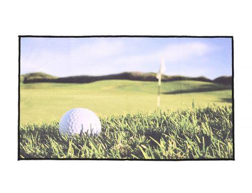 Полотенца для гольфа с сублимационной печатью толщиной 360 г / мXNUMX с одной стороны, без выцветших вафель