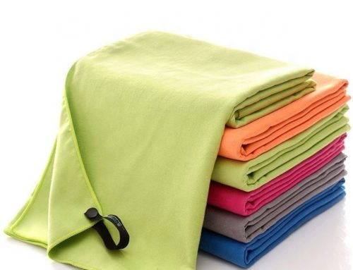 Suede microfiber quick drying light weight aquis adventure microfiber towel for camping