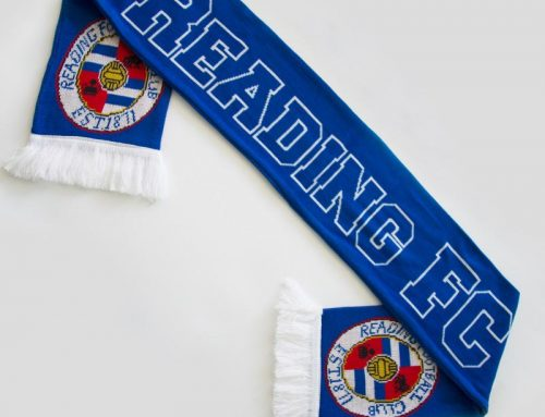 High Quality Double Side Custom Knitted Neck Fan Soccer Style Design Scarf Football Fans Scarf