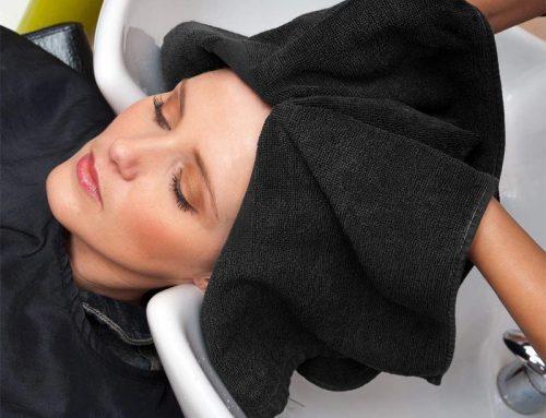 Profesjonalny czarny bawełniany ręcznik spa przeciw wybielaczom Jakość hurtowa Uniwersalny dostawca ręczników spa